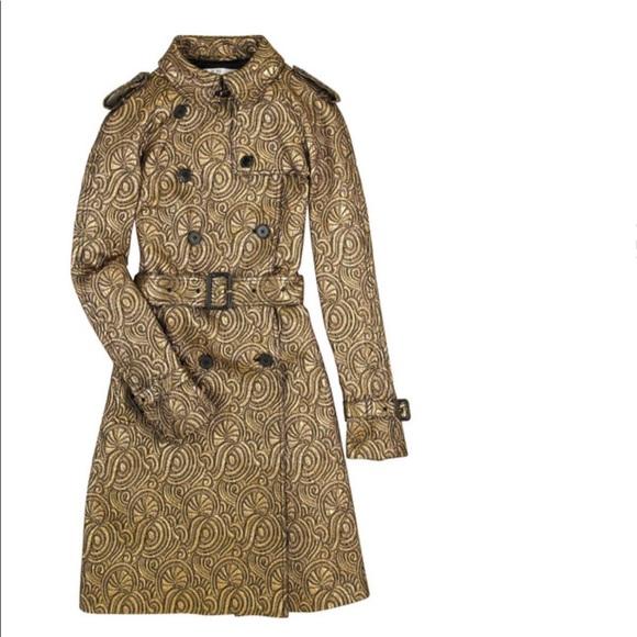 3.1 Phillip Lim Jackets & Blazers - 3.1 Phillip Lin Metallic Jacquard Trench Coat